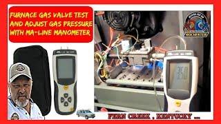 Furnace Gas Valve Test | Rochester Heating & Air | Furnace Repair Louisville Kentucky