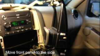 how to replace the radio on a ford explorer