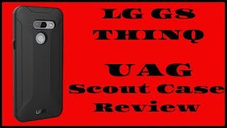 LG G8 Thinq UAG Scout Series Case Review