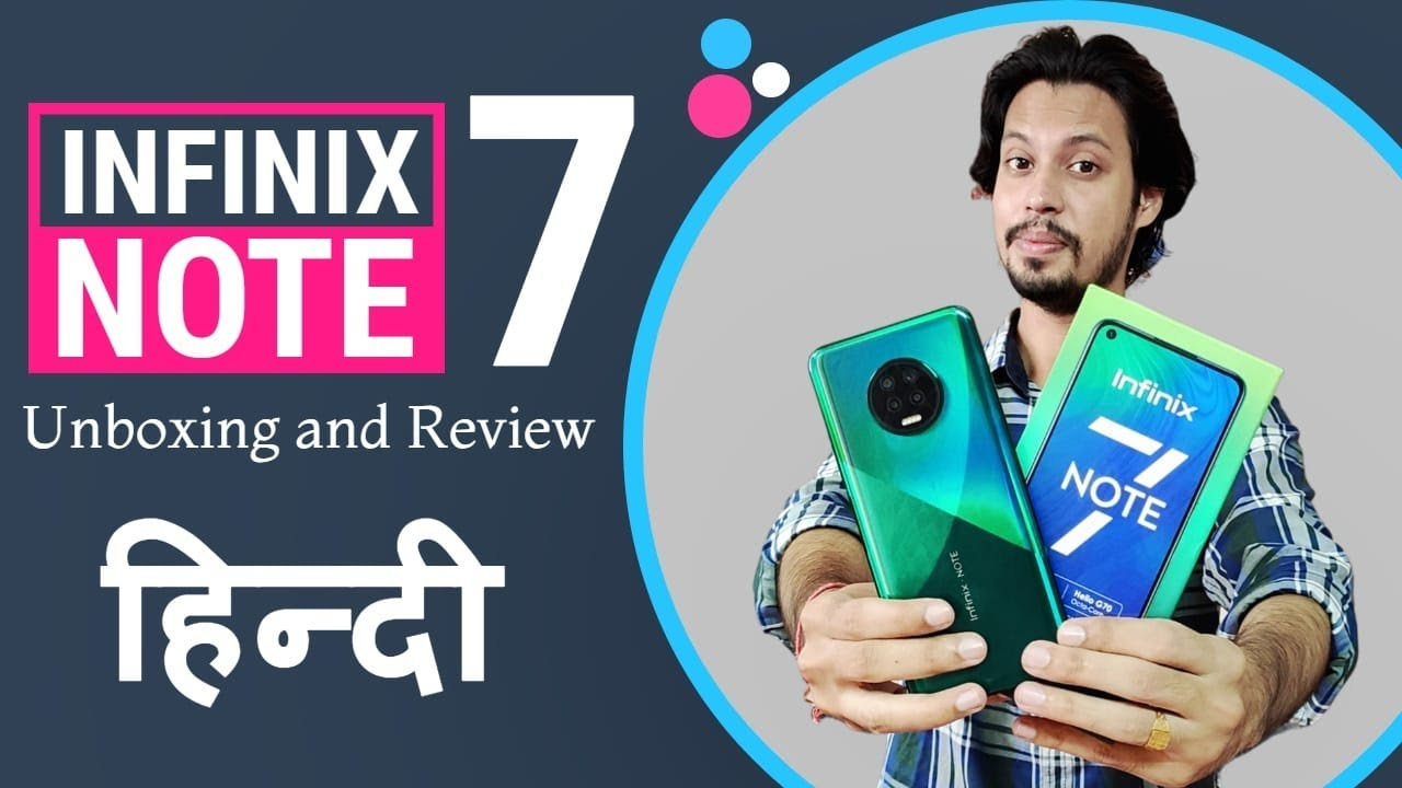 [HINDI] Infinix Note 7 at ₹11,499 | Infinix Note 7 Unboxing | Infinix Note 7 Review