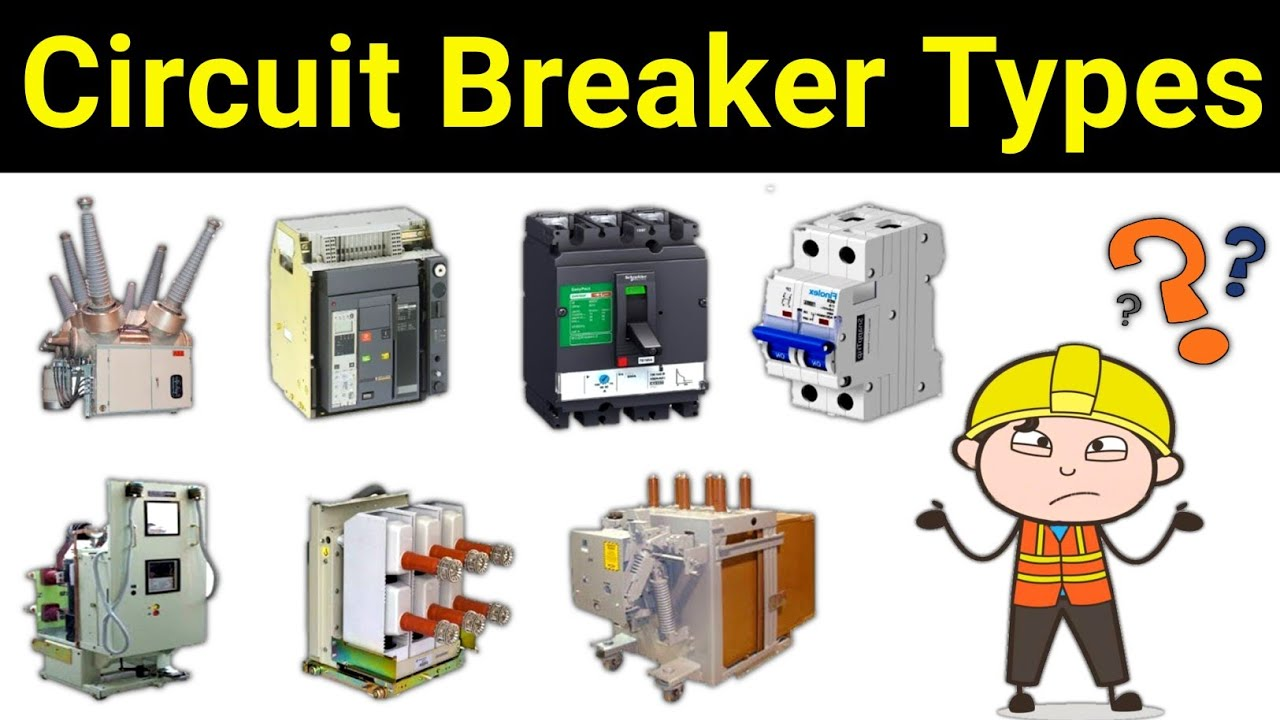 Types of Electrical Circuit breaker | सर्किट ब्रेकर कितने प्रकार के होते है??