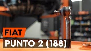 Hogyan cseréljünk Kormány gömbfej FIAT PUNTO (188) - online ingyenes videó