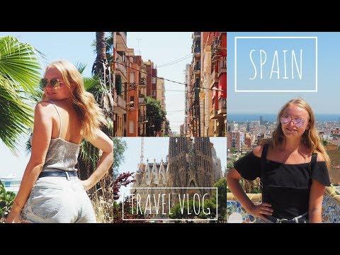 SPAIN Travel Vlog (MADRID + BARCELONA)