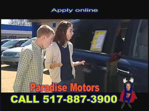 paradise motors lansing michigan