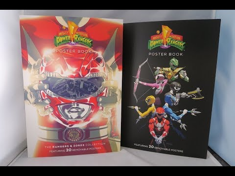 mighty morphin power rangers poster books review