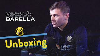 INTER UNBOXING with NICOLÒ BARELLA | LeBron James, Italian National Team and more! | 📦⚫🔵😯 [SUB ENG]