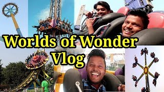 Worlds Of Wonder Amusement Park Noida Vlog Best Amusement Park All Rides