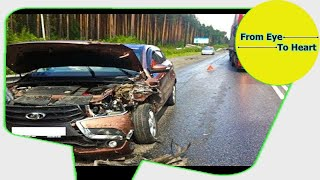 Car Crash) very Shock dash camera 2018 NEW By Top Speed Motor HD (1232) HD