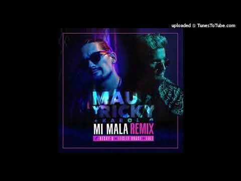 Mau Y Ricky Ft. Karol G, Becky G, Leslie Grace, Lali Esposito - Mi Mala Remix