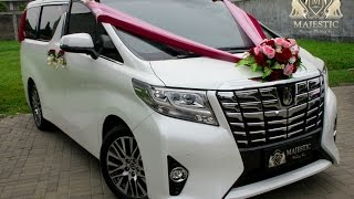 All New Alphard 2016 - Majestic Wedding Car (Rental Mobil Pengantin Bandung)