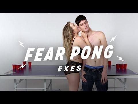 Exes Play Fear Pong (Julian vs. Lee) | Fear Pong | Cut
