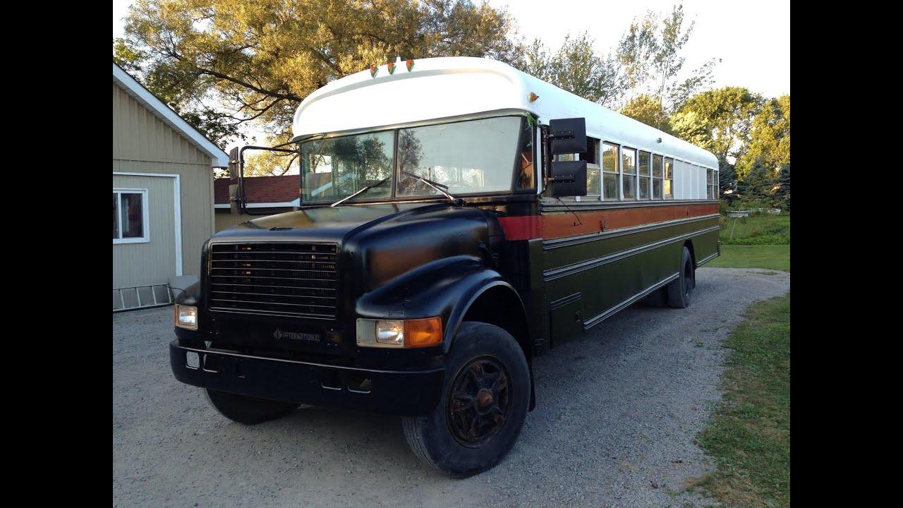 School Bus Conversion Floor Plans