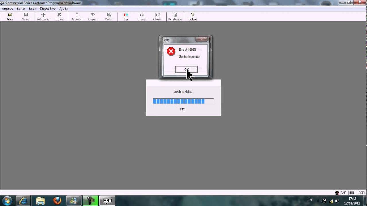soft desbloqueio para radio ep-450 motorola - YouTube