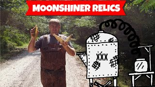 We FOUND a MOONSHINERS HIDEOUT!!! LOADED with ANTIQUE BOTTLES! River Treasure Hunt!!!