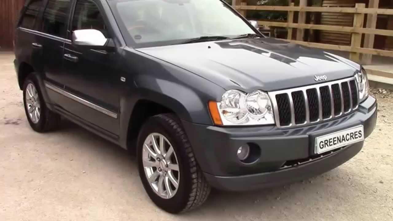 Wonderful For Sale 2006 56 Reg Jeep Grand Cherokee 3.0 CRD V6 Overland