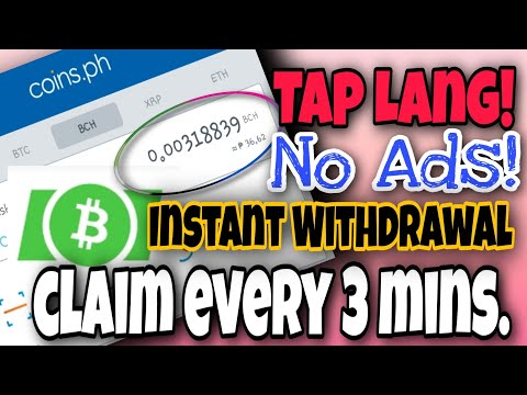 How To Earn Bitcoin Cash   CLAIM EVERY 3 MINUTES   Coins.ph Farming Trick