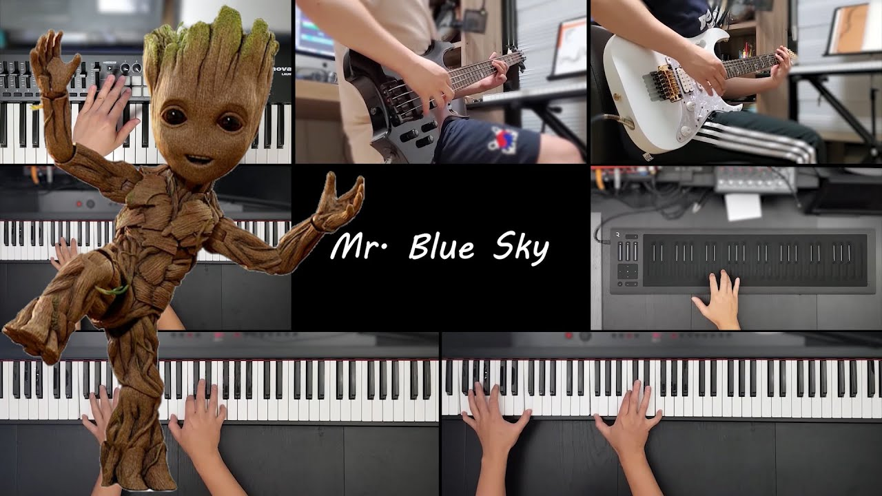 ELO - Mr. Blue Sky All instrument & Piano Cover (Guardians of the Galaxy Vol. 2 OST) by Mark Piano