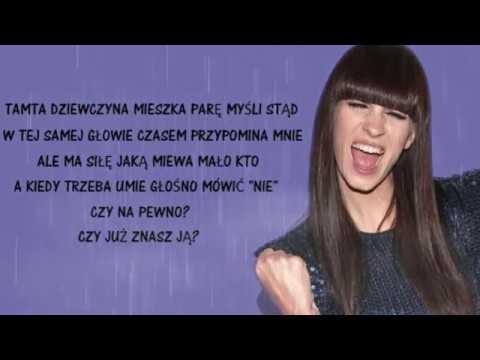 Sylwia Grzeszczak Tamta Dziewczyna Tekst Youtube