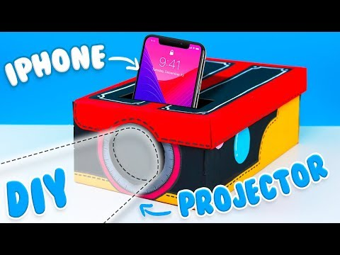 Easy DIYs To Do When You're Bored: DIY Smartphone Projector (Tutorial)