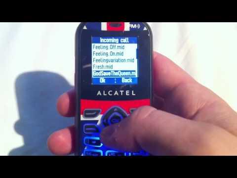 The Alcatel Royal Wedding Phone