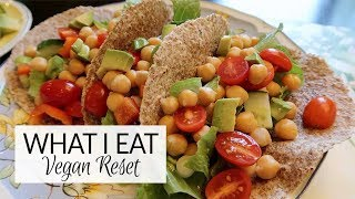 What I Eat In A Day | Vegan Reset