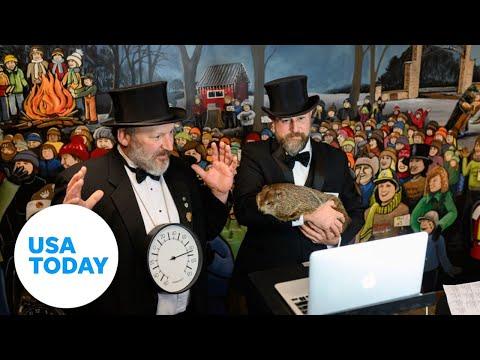135th Groundhog Day celebration    USA Today