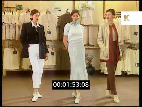 1995 Marks and Spencer Women's Fashion, Menswear