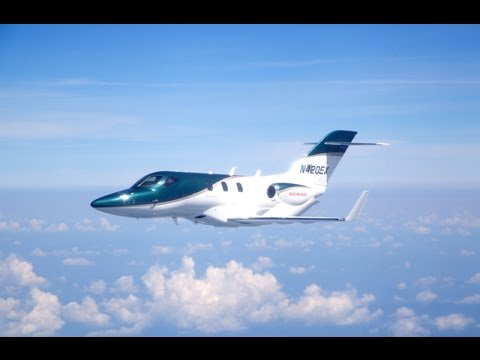 The First Production HondaJet Takes Flight