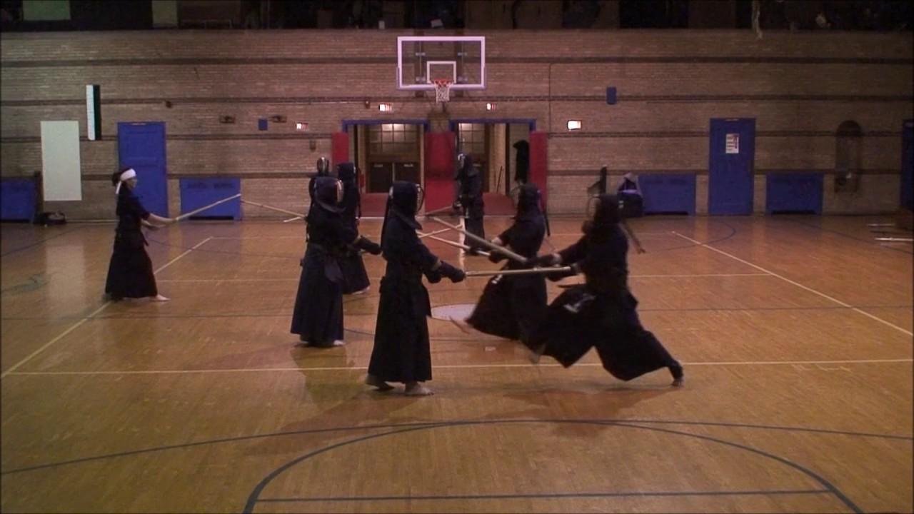 Chicago kendo dojo practice 2 3 17 youtube for Kendo dojo locator