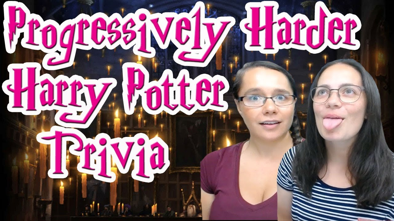 Can you get these increasingly harder Harry Potter trivia questions? - The  Pottermasters - Sporcle