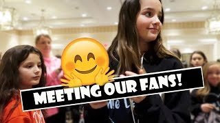 Meeting Our Fans 🤗 (WK 370.4) | Bratayley