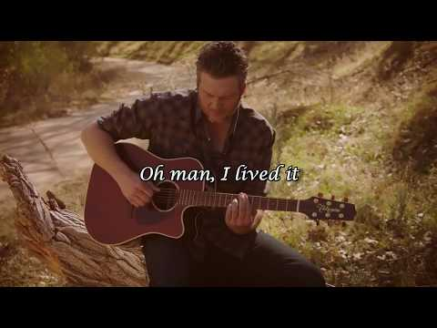 Blake Shelton -  I Lived It (Lyric video)