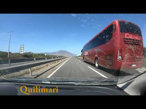 Driving time lapse,  Coquimbo to Santiago Chile
