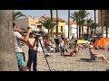 Beaches in Spain, Festival Aereo San Javier 2018 . 4K