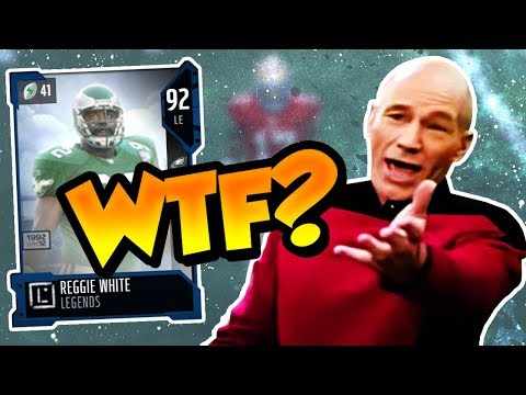 Madden 18 Ultimate Team :: WTF? Reggie White Returns a Kickoff :: Budget Squad
