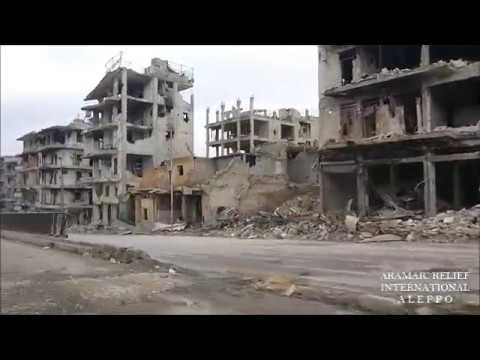 Driving through Aleppo, Syria January 2017 by ARAMAIC RELIEF
