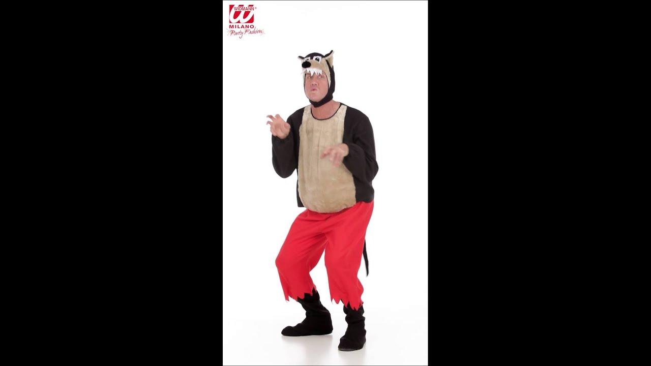 Disfraz de lobo feroz youtube for Disfraz de lobo feroz