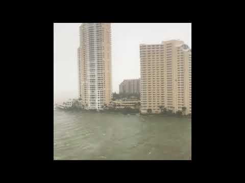 Storm Surge Warnings Remain in Miami-Dade County Following Irma Landfall