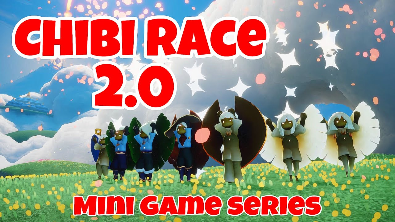 CHIBI RACE 2.0 👶🏻🏁 | MINI GAME SERIES | sky children of the light | Noob Mode