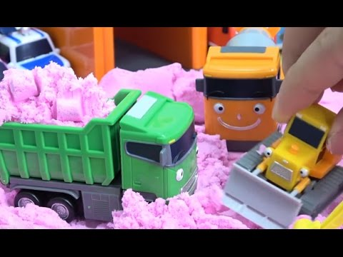 Thumbnail: Tayo the Little Bus in Color Sand & Learn Colors / How to Make Sand