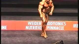 Night of Champions 2002, Posing Markus Ruhl