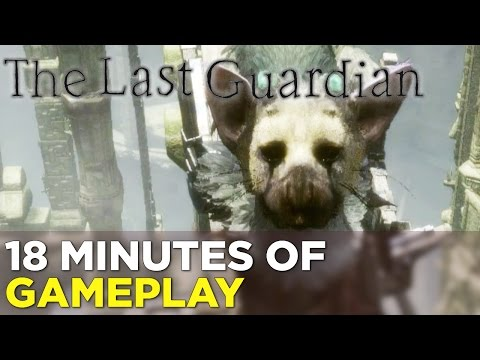 The Last Guardian — 18 Minutes of NEW GAMEPLAY from Tokyo Game Show!