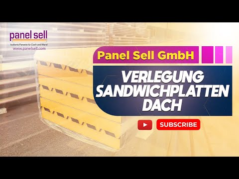 verlegung sanwichplatten dach 1b qualit t von youtube. Black Bedroom Furniture Sets. Home Design Ideas