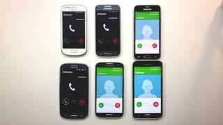 Samsung Galaxy S3, S3 Mini, S4, S4 Mini, S5, S5 Mini Incoming Call At the Same Time