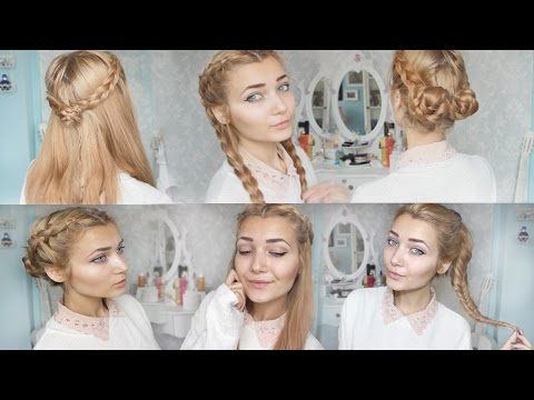 4 Cute Braid Back To School Hairstyles