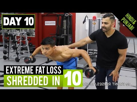 GUARANTEED Extreme FAT LOSS Workout! DAY-10 (Hindi / Punjabi)