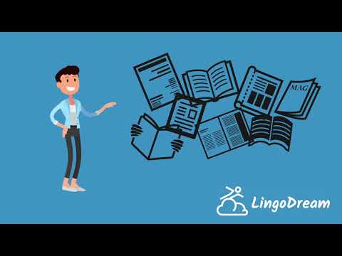 LingoDream Intro - Become Fluent in Any Language via Reading