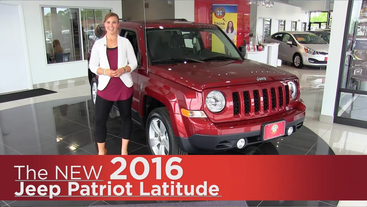 the new 2016 jeep patriot latitude elk river coon. Black Bedroom Furniture Sets. Home Design Ideas