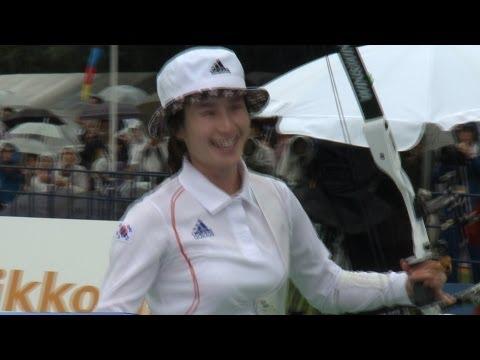 TV News - Tokyo - Archery World Cup 2012