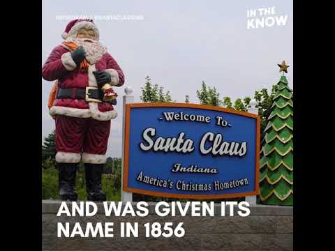 Christmas In Indiana.Santa Claus Indiana Is A Year Round Christmas Town